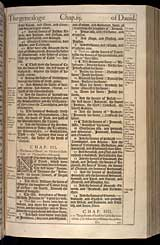 1 Chronicles Chapter 3, Original 1611 KJV