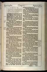 1 Esdras Chapter 6, Original 1611 KJV