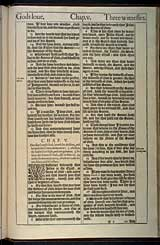 1 John Chapter 5, Original 1611 KJV
