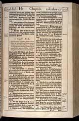 1 Kings Chapter 19, Original 1611 KJV