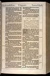 1 Samuel Chapter 25, Original 1611 KJV