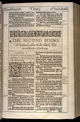 2 Samuel Chapter 1, Original 1611 KJV