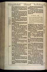 1 Samuel Chapter 9, Original 1611 KJV