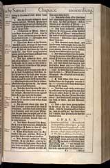 1 Samuel Chapter 10, Original 1611 KJV
