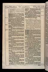 2 Corinthians Chapter 7, Original 1611 KJV