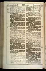 2 Kings Chapter 3, Original 1611 KJV