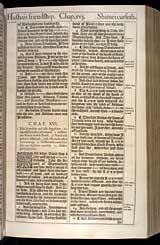 2 Samuel Chapter 16, Original 1611 KJV