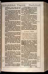 2 Samuel Chapter 18, Original 1611 KJV