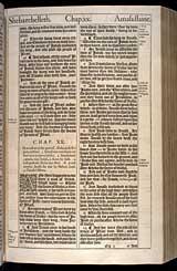 2 Samuel Chapter 20, Original 1611 KJV