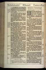 2 Samuel Chapter 21, Original 1611 KJV