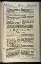 Titus Chapter 1, Original 1611 KJV
