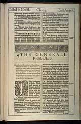 Jude Chapter 1, Original 1611 KJV
