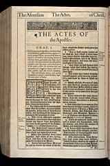 Acts Chapter 1, Original 1611 KJV