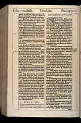 Acts Chapter 25, Original 1611 KJV