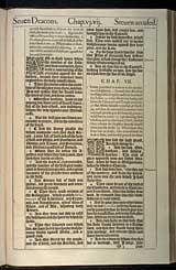 Acts Chapter 6, Original 1611 KJV
