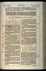 Wisdom of Solomon Chapter 1, Original 1611 KJV