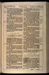 Amos Chapter 3, Original 1611 KJV