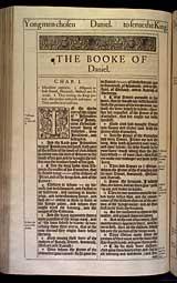 Daniel Chapter 1, Original 1611 KJV