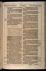 Daniel Chapter 2, Original 1611 KJV