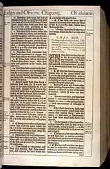 Deuteronomy Chapter 17, Original 1611 KJV