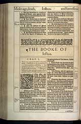 Joshua Chapter 1, Original 1611 KJV
