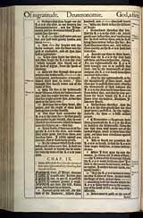 Deuteronomy Chapter 9, Original 1611 KJV