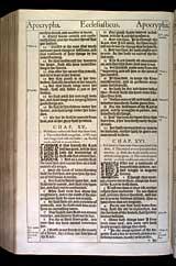 Ecclesiasticus Chapter 15, Original 1611 KJV