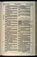 Ecclesiasticus Chapter 30, Original 1611 KJV