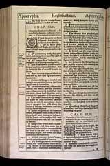 Ecclesiasticus Chapter 43, Original 1611 KJV