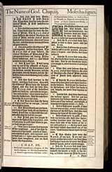 Exodus Chapter 4, Original 1611 KJV