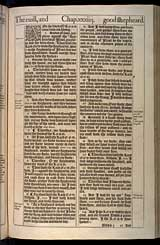 Ezekiel Chapter 34, Original 1611 KJV