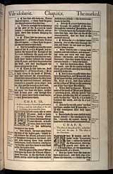 Ezekiel Chapter 9, Original 1611 KJV