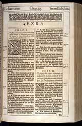 Ezra Chapter 1, Original 1611 KJV