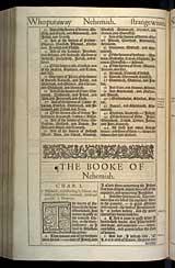 Nehemiah Chapter 1, Original 1611 KJV