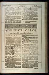 Ephesians Chapter 1, Original 1611 KJV