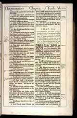 Genesis Chapter 12, Original 1611 KJV