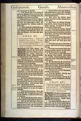 Genesis Chapter 15, Original 1611 KJV