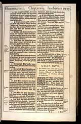 Genesis Chapter 28, Original 1611 KJV