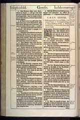 Genesis Chapter 38, Original 1611 KJV