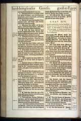 Genesis Chapter 46, Original 1611 KJV