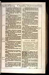 Genesis Chapter 47, Original 1611 KJV
