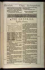 James Chapter 1, Original 1611 KJV