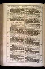 Hosea Chapter 14, Original 1611 KJV