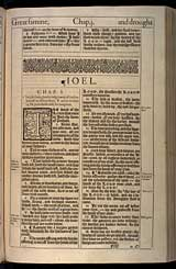 Joel Chapter 1, Original 1611 KJV