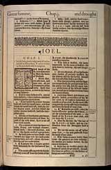 Joel Chapter 1, Original 1611 KJV