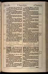 Hosea Chapter 9, Original 1611 KJV
