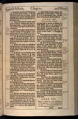 Isaiah Chapter 15, Original 1611 KJV