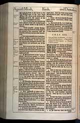 Isaiah Chapter 16, Original 1611 KJV