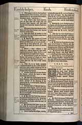Isaiah Chapter 20, Original 1611 KJV