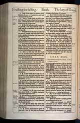 Isaiah Chapter 23, Original 1611 KJV